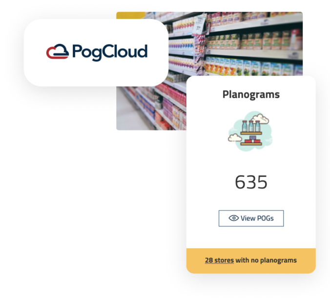 View details that help you manage your planograms